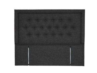 Sleepwell Fabric Lined Button Headboard