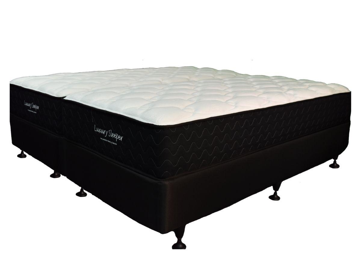 Sleepwell Luxury Split Super King Mattress & Base