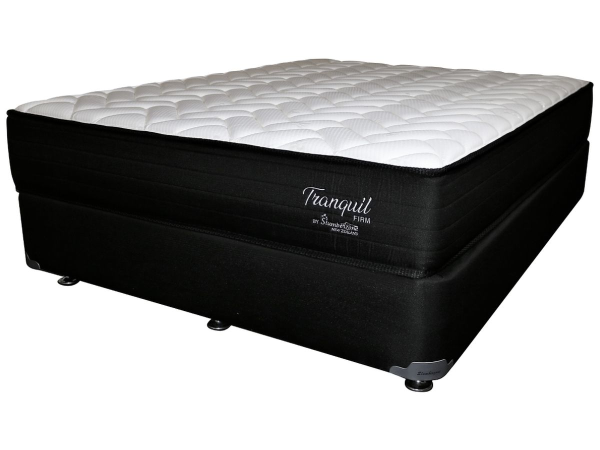 tranquil firm mattress with base