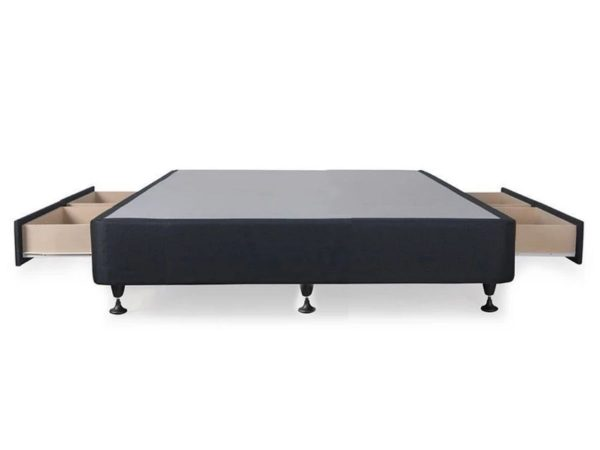 Sleepwell NZ MaSleepwell NZ Made bed base With 4 Drawers double queende bed base With 4 Drawers