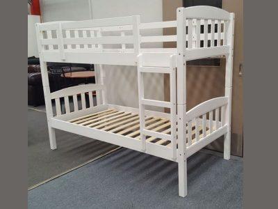 maryl single up single down bunk white