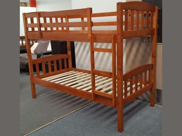 maryl single up single down bunk wood