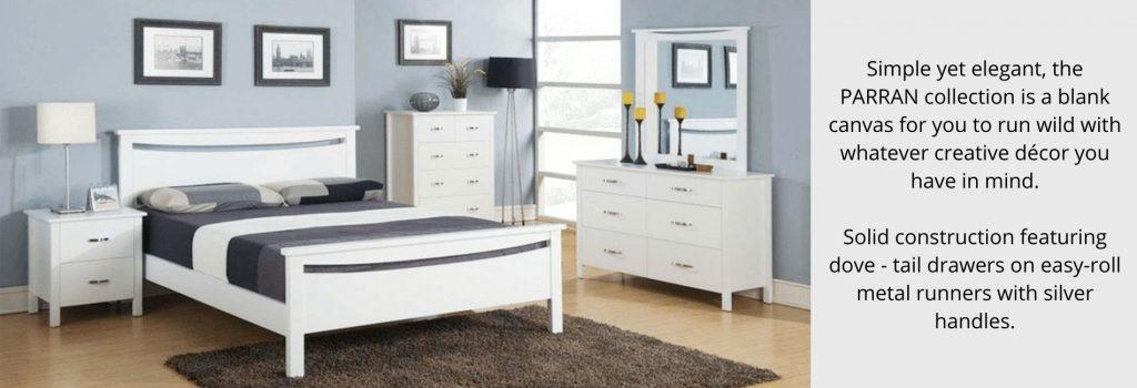 parran bedroom suite