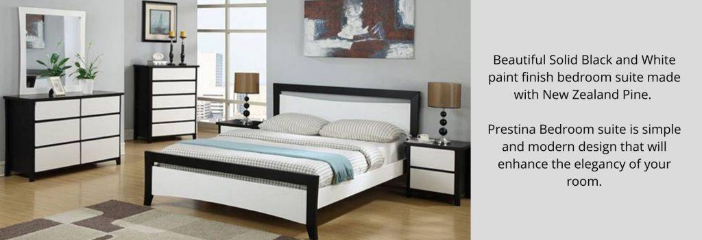 prestina bedroom suite