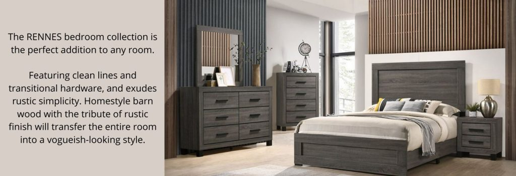 rennes bedroom suite