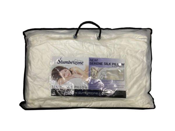 serene silk pillow