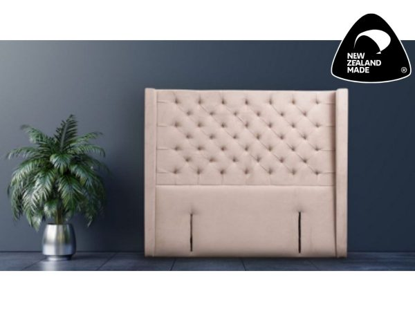 winger tufted curved headboard